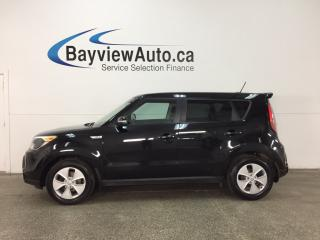 Used 2015 Kia Soul LX - 6 SPEED! ALLOYS! HEATED SEATS! BLUETOOTH! CRUISE! for sale in Belleville, ON