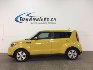 Used 2015 Kia Soul LX - ALLOYS! 6 SPD! HTD SEATS! BLUETOOTH! CRUISE! for sale in Belleville, ON