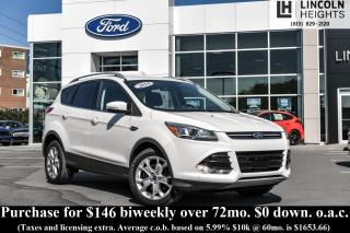 Used 2014 Ford Escape TITANIUM 4WD - NAV - BLIND SPOT DETECTION for sale in Ottawa, ON