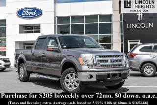Used 2014 Ford F-150 XLT SuperCrew6.5-ft. Bed 4WD for sale in Ottawa, ON