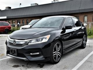 Used 2016 Honda Accord Sport SUNROOF, ALUMINUM WHEELS, REAR CAMERA !!! for sale in Concord, ON
