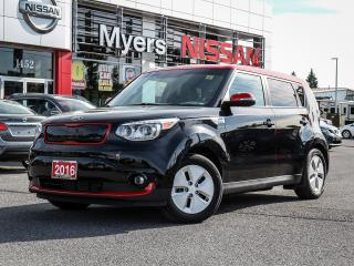 Used 2016 Kia Soul EV ECO Electric LEATHER NAV for sale in Orleans, ON