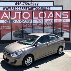 Used 2013 Hyundai Accent GLS-ALL CREDIT ACCEPTED for sale in Scarborough, ON
