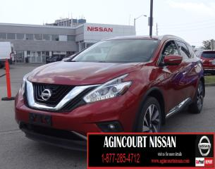 Used 2015 Nissan Murano Platinum AWD|NAVI|BLIND SPOT|LEATHER|PANO SUNROOF| for sale in Scarborough, ON