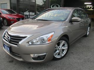 Used 2014 Nissan Altima 2.5 SL-TECH-PKG-NAVI-CAMERA-LTHER-ROOF-LOADED for sale in Scarborough, ON
