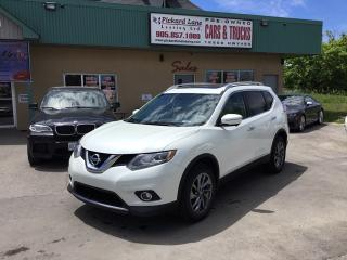 Used 2015 Nissan Rogue SL for sale in Bolton, ON