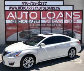 Used 2014 Nissan Altima 3.5 SL SL-ALL CREDIT ACCEPTED for sale in Scarborough, ON
