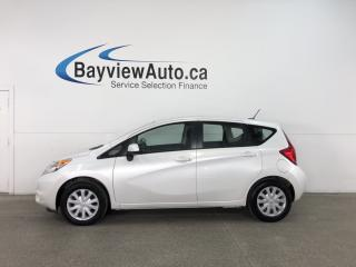 Used 2014 Nissan Versa Note 1.6 SV - AUTO! A/C! REVERSE CAM! BLUETOOTH! CRUISE! for sale in Belleville, ON