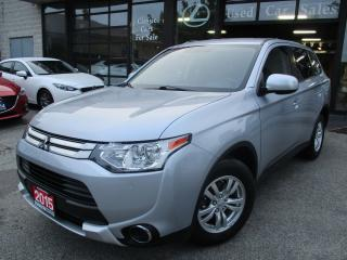 Used 2015 Mitsubishi Outlander ES-CAMERA-BLUETOOTH-HEATED SEAT for sale in Scarborough, ON