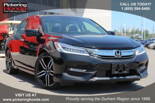 Used 2016 Honda Accord Touring Clean CarProof|One Owner|Navigation for sale in Pickering, ON