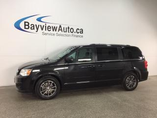 Used 2017 Dodge Grand Caravan CVP/SXT - ALLOYS! HTD SEATS! 3 ZONE CLIMATE! DVD! NAV! U-CONNECT! for sale in Belleville, ON