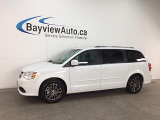 Used 2017 Dodge Grand Caravan CVP/SXT - ALLOYS! ECO MODE! DVD! NAV! 3 ZONE CLIMATE! U-CONNECT! for sale in Belleville, ON
