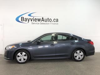 Used 2015 Subaru Legacy 2.5i - AWD! HTD SEATS! REV CAM! BLUETOOTH! for sale in Belleville, ON