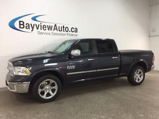 Used 2016 RAM 1500 Laramie - ECODIESEL! REM START! HITCH! ROOF! HTD/AC LTHR! ALPINE! for sale in Belleville, ON
