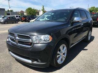 Used 2012 Dodge Durango CREW *CUIR*TOIT*GPS*HITCH* for sale in Brossard, QC