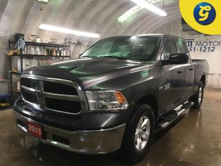 Used 2015 RAM 1500 SXT*4WD*QUADCAB*HEMI*SIDE STEPS*ALLOYS*BOX LINER*TOW/HAUL MODE*KEYLESS ENTRY*POWER WINDOWS/LOCKS/HEATED MIRRORS*CLIMATE CONTROL*CRUISE CONTROL*TRACTIO for sale in Cambridge, ON