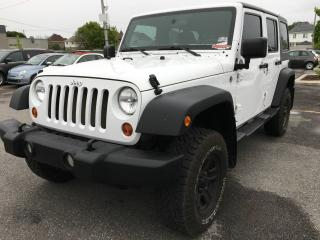 Used 2012 Jeep Wrangler UNLIMITED SPORT *AUDIO ALPINE* for sale in Brossard, QC