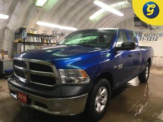 Used 2016 RAM 1500 SXT*4WD*QUADCAB*HEMI*BOX LINER*TOW/HAUL MODE*KEYLESS ENTRY*POWER WINDOWS/LOCKS/HEATED MIRRORS*CLIMATE CONTROL*TRACTION CONTROL*CRUISE CONTROL*AM/FM/XM for sale in Cambridge, ON
