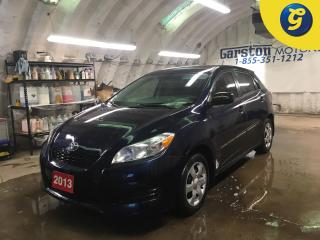 Used 2013 Toyota Matrix POWER HEATED MIRRORS*TRACTION CONTROL*AM/FM/CD/AUX* for sale in Cambridge, ON