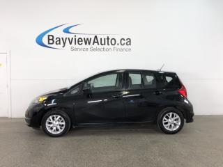 Used 2017 Nissan Versa Note 1.6 SV - ALLOYS! HTD SEATS! A/C! REVERSE CAM! BLUETOOTH! for sale in Belleville, ON