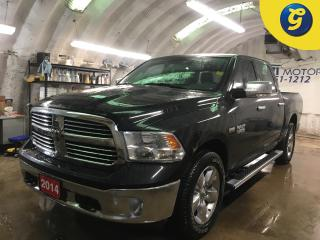Used 2014 RAM 1500 BIG HORN*CREWCAB*4X4*HEMI*U CONNECT PHONE*Uconnect 5.0 AM/FM/BT 5.0