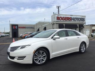 Used 2015 Lincoln MKZ 2.0 NAVI - SUNROOF - REVERSE CAM for sale in Oakville, ON