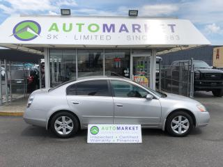 Used 2004 Nissan Altima 2.5 S WE FINANCE ALL CREDIT! for sale in Langley, BC