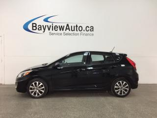 Used 2017 Hyundai Accent LE - AUTO! ALLOYS! SUNROOF! HTD STS! BLUETOOTH! for sale in Belleville, ON