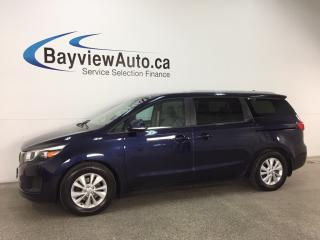 Used 2018 Kia Sedona LX - ALLOYS! PUSH BTN START! ECO MODE! HTD SEATS! WIFI! PWR LIFTGATE! for sale in Belleville, ON