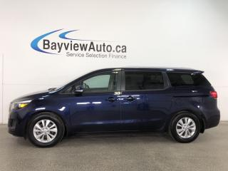 Used 2018 Kia Sedona LX - PUSH BTN START! HTD SEATS! 3 ZONE CLIMATE! PWR SLIDERS! for sale in Belleville, ON