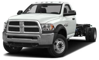 New 2018 RAM 5500 Chassis ST/SLT for sale in Surrey, BC