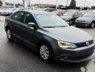 Used 2014 Volkswagen Jetta Comfortline 2.0 6sp for sale in Gatineau, QC