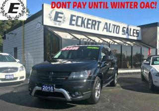Used 2016 Dodge Journey CROSSROAD AWD WITH LEATHER / NAV / SUNROOF for sale in Barrie, ON