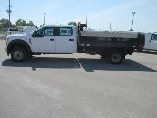 Used 2017 Ford F-550 XL.11 FT.STEEL DEL DUMP BODY. for sale in London, ON