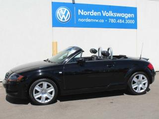 Used 2005 Audi TT TT CONVERTIBLE - HEATED LEATHER - POWER TOP for sale in Edmonton, AB