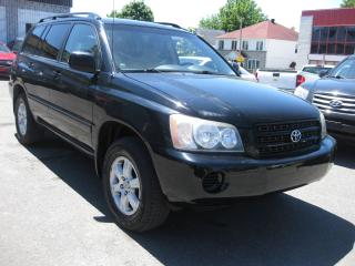 Used 2003 Toyota Highlander 3.0L 6cy 4x4 AC Leather LOW KM PL PM PW for sale in Ottawa, ON