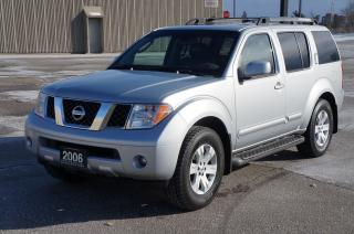 Used 2006 Nissan Pathfinder LE 4WD 7-Passenger *No Accident* for sale in North York, ON