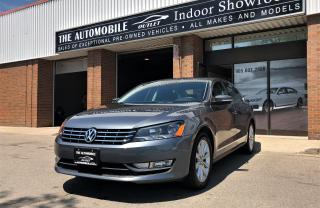 Used 2013 Volkswagen Passat 2.0 TDI SE Highline DIESEL SUNROOF NO ACCIDENT for sale in Mississauga, ON