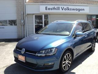 Used 2015 Volkswagen Golf Wagon HIGHLINE for sale in Walkerton, ON