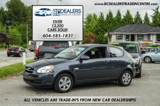 Used 2008 Hyundai Accent L 5-Speed Manual, iPod Hookup, No Accidents! for sale in Surrey, BC