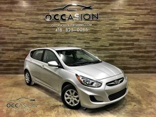 Used 2013 Hyundai Accent MODELE GL **EN INVENTAIRE A LEVIS** for sale in Ste-brigitte-de-laval, QC