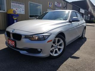 Used 2012 BMW 3 Series 320i-NO TAX SALE 1 WEEKPREMIUM PKG-SUNROOF-LEATHER for sale in Tilbury, ON