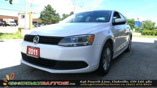 Used 2011 Volkswagen Jetta Comfortline|MANUAL 5SPD|HEATED SEATS|A/C|CERTIFIED for sale in Oakville, ON