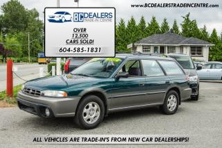 Used 1996 Subaru Outback Legacy AWD, Low Km's, Amazing Condition, 4-Cyl! for sale in Surrey, BC