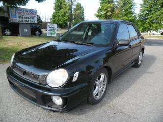 Used 2002 Subaru Impreza TS