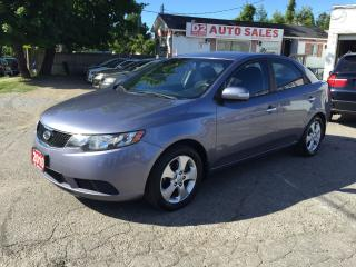 Used 2010 Kia Forte EX/Automatic/Accident Free/Bluetooth/Heated Seats for sale in Scarborough, ON