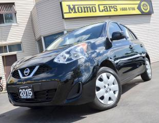 Used 2015 Nissan Micra SV! Back-up Cam!Cruise Control!Only$105/Bi-weekly! for sale in St Catharines, ON
