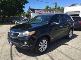 Used 2011 Kia Sorento EX/Leather/2 Sunrooofs/Navi/Backup Cam/Bluetooth for sale in Scarborough, ON