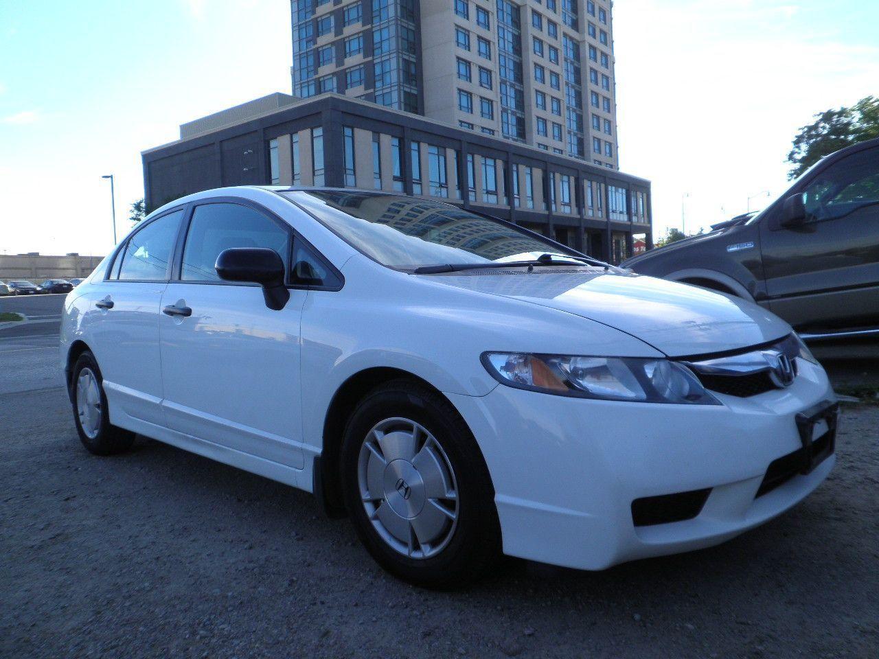 Photo of White 2011 Honda Civic