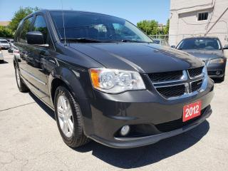 Used 2012 Dodge Grand Caravan Crew/Camera/Bluetooth/Aux/DVD/Leather Seats for sale in Scarborough, ON